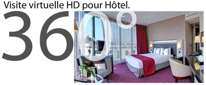 photo panoramique visite virtuelle 360° hotel