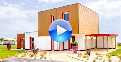 time-lapse construction maison