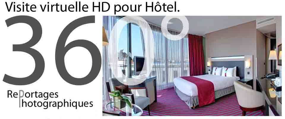 reportage photo hotel panoramique 360°