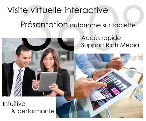 visite virtuelle interactive 360°